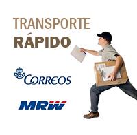 Envios rápido por MRW y Correos